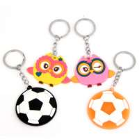 PVC soft glue highgrade car key chain Manufacturer