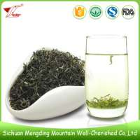 Hand-picked Green Tea Leaves