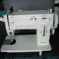 long arm flat bed home zigzag sail sewing machine puller
