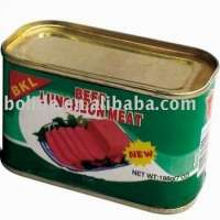Halal canned luncheon meat Manufacturer