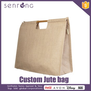 Burlap Fabric Wine Bottle Jute Bag Jute Bag Sewing Machine