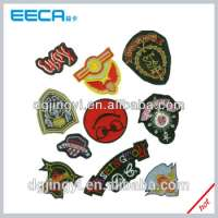 customized woven badge labels Manufacturer
