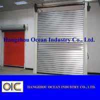 Industrial Aluminum Rapid Rolling Security Door Manufacturer