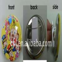 button badges plastic clip and safety pin Manufacturer