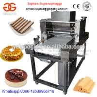 Automatic Cholocate Cream Cheese Spreading Machine Wafer Cream Spreading Machine