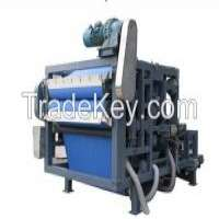Continuous Industrial Filter Press Dewatering Machine Plant Manufacturer