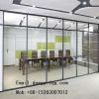 Clear glass partition Manufacturer