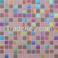 design glass mosaic tile grey mirror Manufacturer