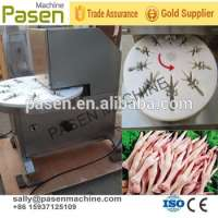 Large capacity stainless steel chicken claw peeling machine highest chicken feet cutting machine Manufacturer