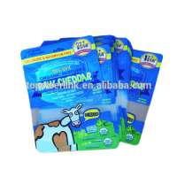 fresh cheese vegetable packaging bag packing details recyclable stand up zipper pouch Manufacturer