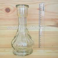 445ml Glass bottle hookah bottles Indian Manufacturer