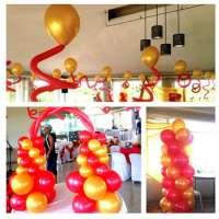 Party Rocks Balloon Arrangement Manufacturer