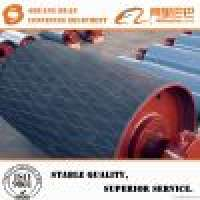 Rubber coating conveyor drive pulley conveyor system pass iso9001 Manufacturer