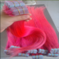 hair pink colour tape hair real  Manufacturer
