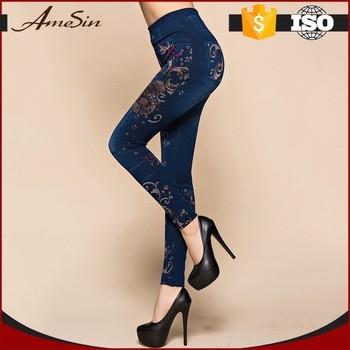 Fat Women Panties Shiny Baby Ladies Jeans Leggings From Changsha Amesin Trading Co., Ltd