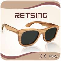 wooden sunglasses frames polarised lenses