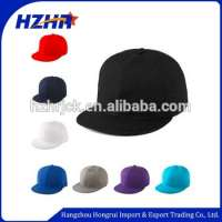 Hip hop Plain blank snapback baseball cap Manufacturer