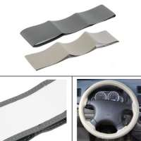 Leather Car Steering Wheel Cover Needles