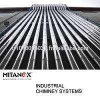 Industrial building chimney system big project stainless steel us our technical team support you 32