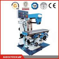 metal manual horizontal milling machine