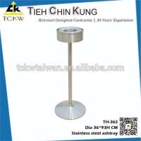 Commercial windproof SS 304 water cigarette ashtray Manufacturer