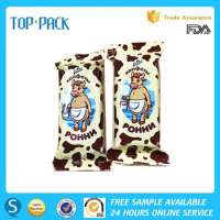 Plastic Back Sealing Ice CreamChocolate Pouch Packaging