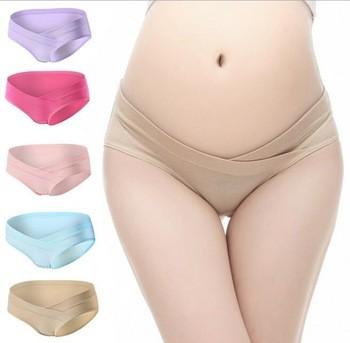 d977de96713 Z81851B lowwaist women cotton underwear ladies clothing maternity panties