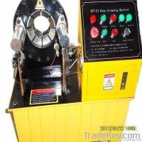 CE certificate HYT51 Electric hydraulic hose crimping machine