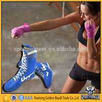 Blue Boxing Shoes Wrestling Boxing Boots Boxing Boots Man Manufacturer