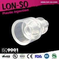 injection molding companies plastic led light cover