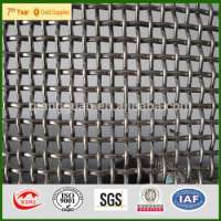 stainless steel crimped low carbor wire mesh