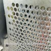 round hole perforated metal mesh sheet