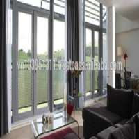 Interior soundproof uPVC profile door and window