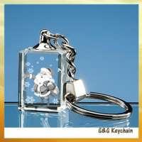 3D LED crystal pendant key holder  Manufacturer