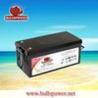 Deep cycle battery vrla 12v210ahbattery solar power plant Manufacturer