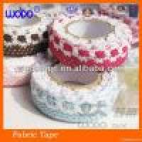 PTFE Thread Seal Tape and Colorful fabric lace tape DIY and decoration Manufacturer