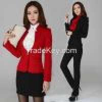 Ladies skirt suits women office uniform  Manufacturer