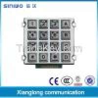 Backlight metal gate opener keypad 4x4 button Manufacturer
