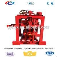 hollow block brick making machine Manufacturer