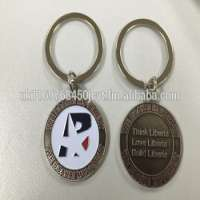 Presidential Campaign Election Metal Keychain Manufacturer