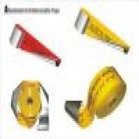 Lycra Elastics and Aluminum foil detectable warning tape Manufacturer