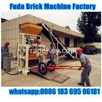 Qt40c1 manual concrete hollow block making machine Manufacturer