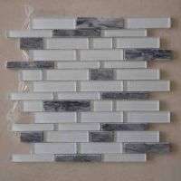 Glass Mix Marble Mosaic Tiles Manufacturer
