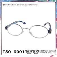 silver metal optical glasses frame Manufacturer