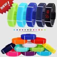 LED digital wrist watch for men