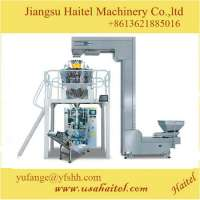 Automatic weighing Snack food packing machine filling nitrogen packing machine Manufacturer