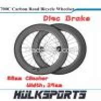 Disc Brake Road bicycle wheels 700c full carbon Manufacturer