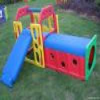 plastic tube slid combo gym slide playgrounds large tunnel Manufacturer