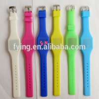 Child watch digital LED colorful watch saat Manufacturer