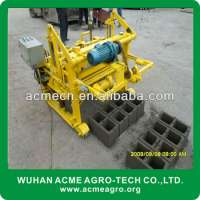 QT403A cement egg laying brick machines